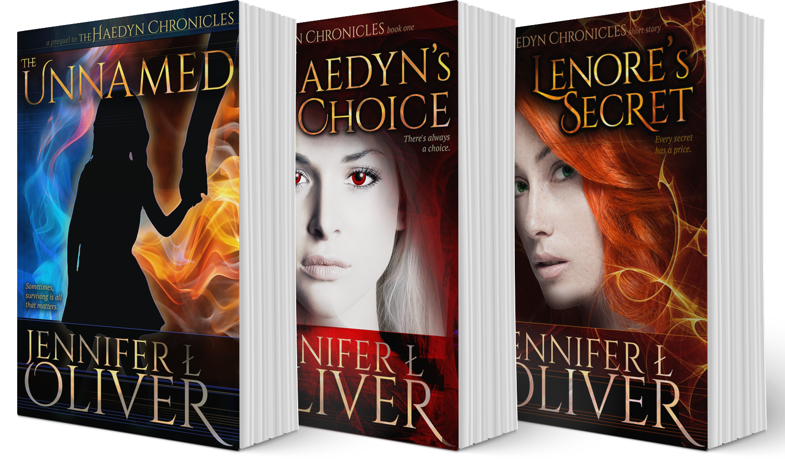 The Haedyn Chronicles by Jennifer L. Oliver
